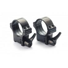 Rusan quick-release montaža 1 par obročev (prizma: 16,5 mm) 25,4 mm, višina H21
