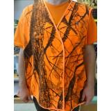 Lovski oranžni brezrokavnik Deer Hunter Survive (številka: 4XL)