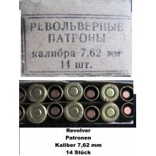 Strelivo za revolver, kal. 7,62 mm NAGANT