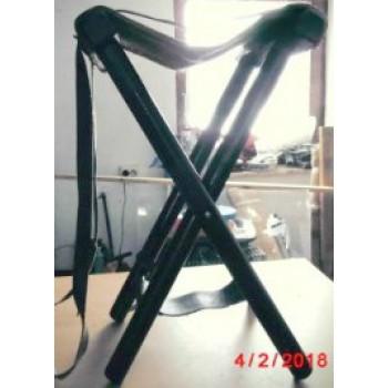 PRIHAJA!!! Sedež stolček z usnjenim dodatkom