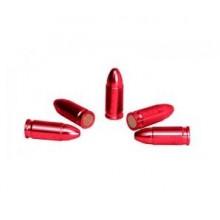 Slepi naboji aluminij rdeč eloksirani kal.9mm (NI NA ZALOGI)